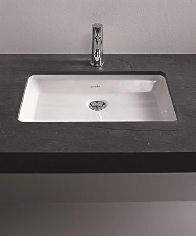 duravit 2nd floor under counter vanity basin 525 x 350mm. Black Bedroom Furniture Sets. Home Design Ideas