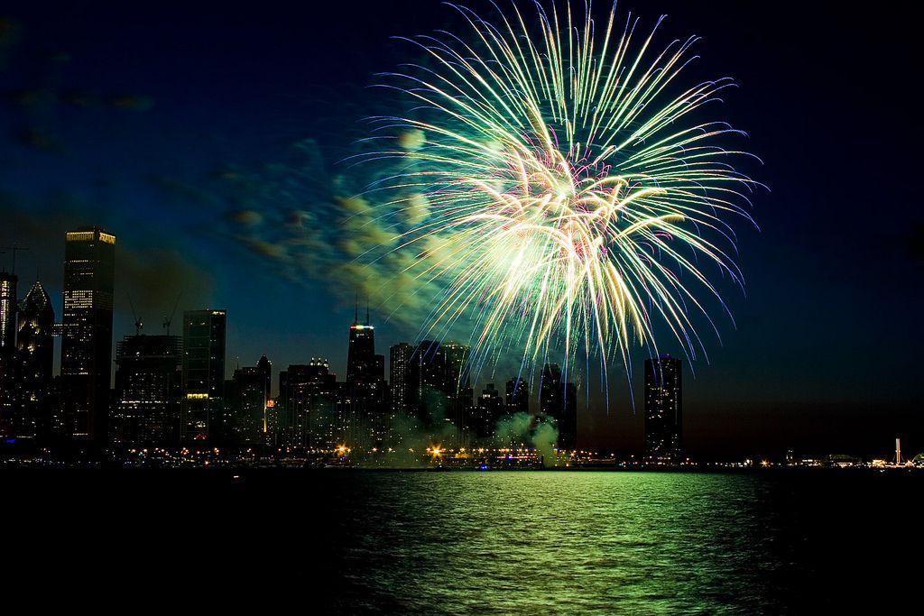 July 4th Fireworks Chicago Fireworks Photography Chicago Fireworks Fireworks