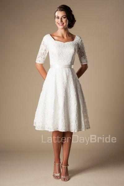 c8e7ac139d78 Marilyn in 2019 | For Time & All Eternity | Wedding dresses, Modest ...
