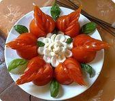 Photo of Cómo organizar hermosas verduras festivas … – Ensaladas de Frut