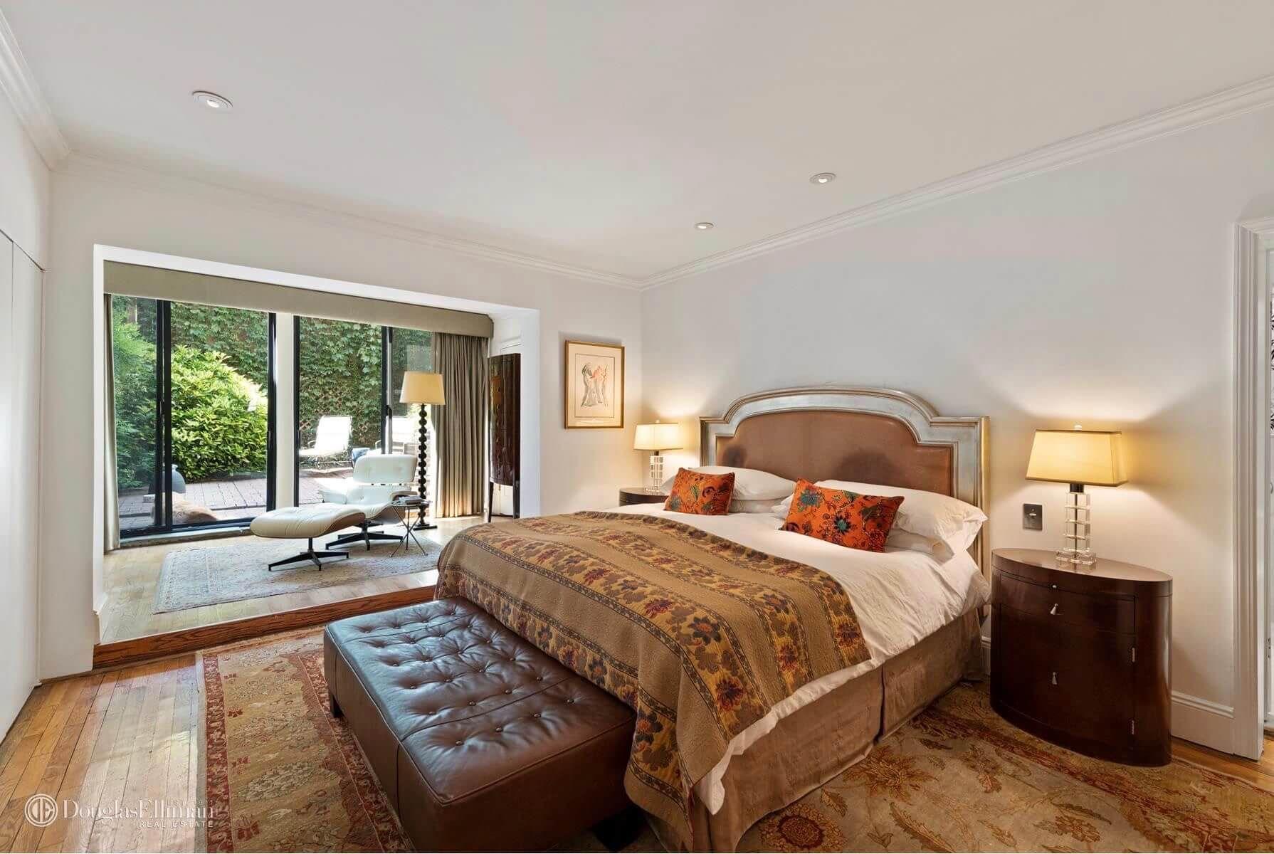 New York City Brooklyn Master bedroom and garden, 104