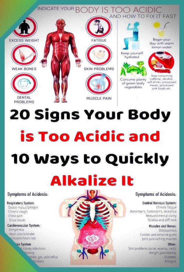 15 Signs Your Body Is Too Acidic (And What To Do)