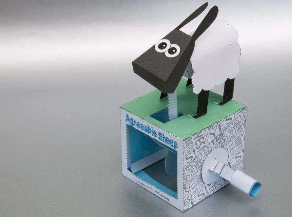 Another great papercraft toy from instructables
