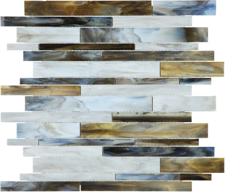 discount glass tile store bliss baroque corallo random strip stained glass collection