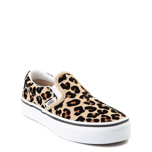 Vans Slip On Skate Shoe Little Kid Big Kid Leopard in