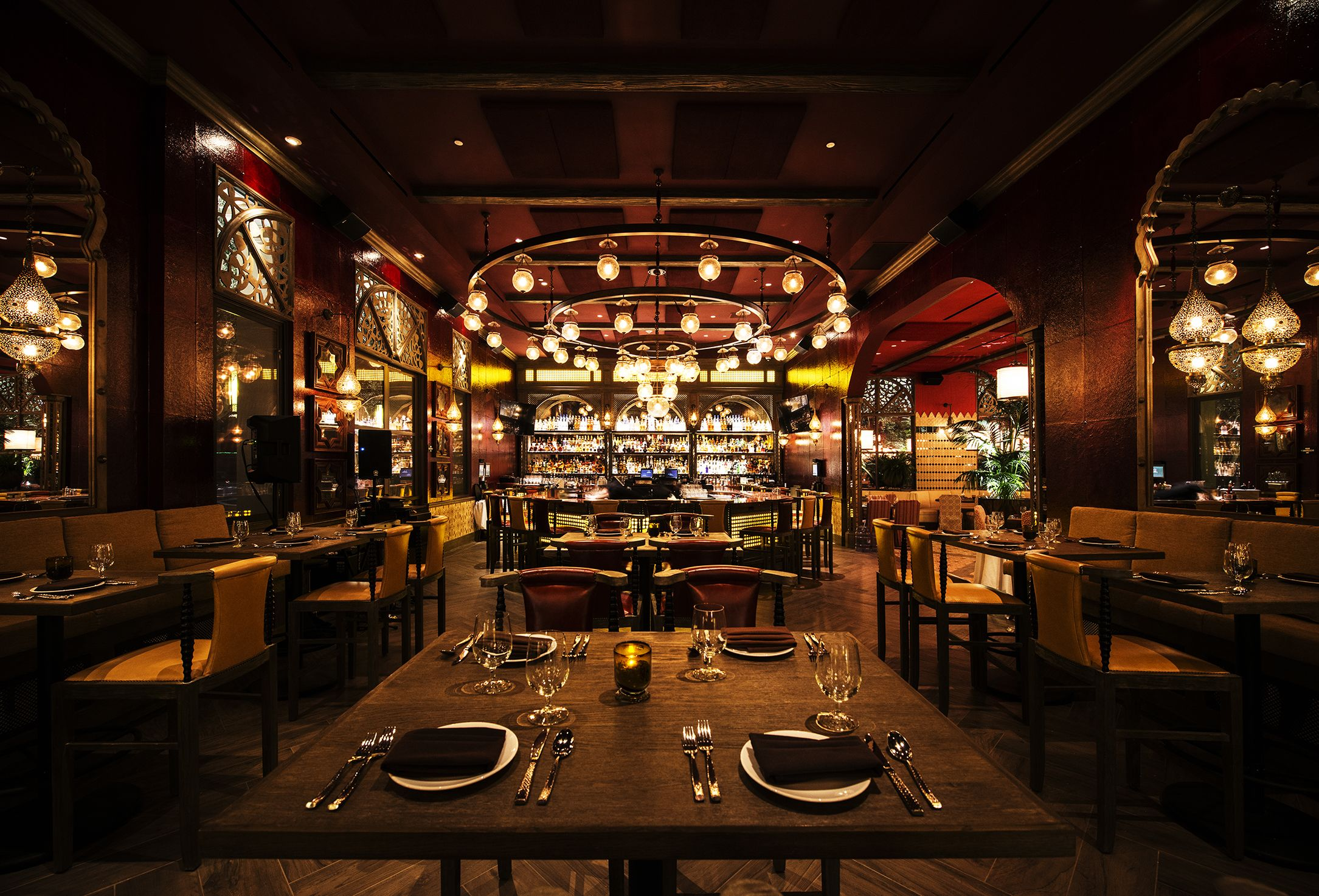 Pin By Lighting Design Studio At On Red O Restaurant