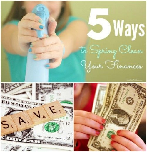 SO important!! Don't wait until January, Simple, practical tips to help you save thousands. 5 Ways to Spring Clean Your Family Finances and put more cash in the bank now!