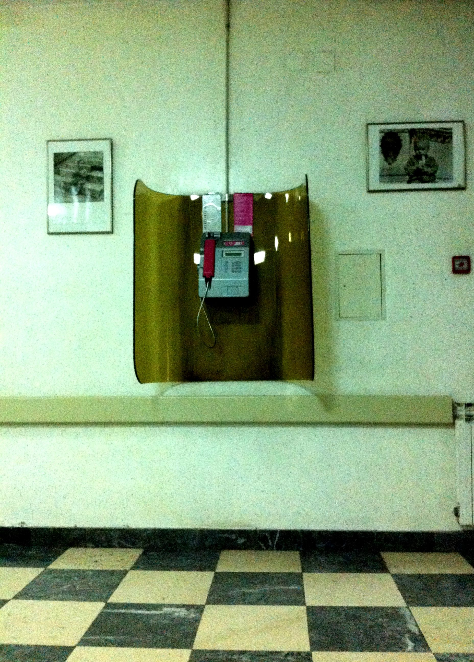 Phone Booth At Petrova Maternity Hospital In Zagreb Phone Booth Maternity Hospital Phone
