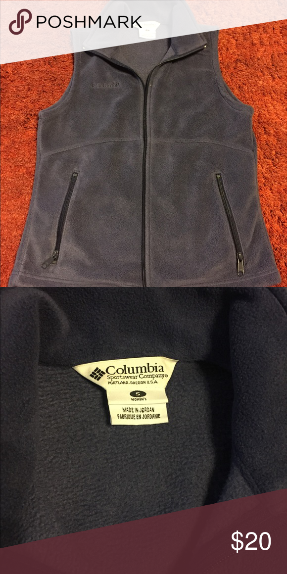 Columbia vest! Super cute woman's vest! Great used condition! Columbia Jackets & Coats Vests