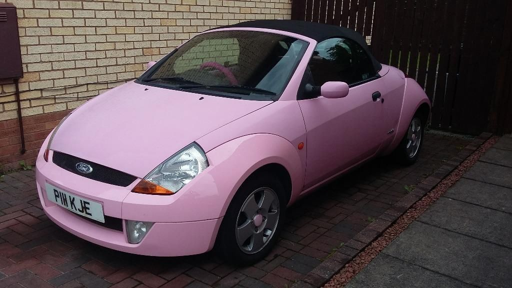 Pink Ford Streetka Convertible Lochgelly Fife Gumtree Auto
