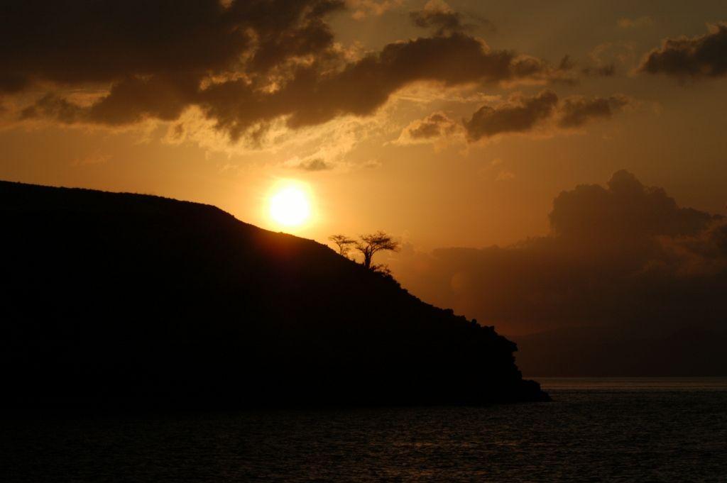 Sunset Rinca Island
