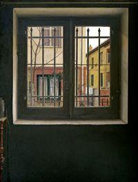 Realistas de Madrid: llegan al Museo Thyssen. La ventana. Isabel Quintanilla.