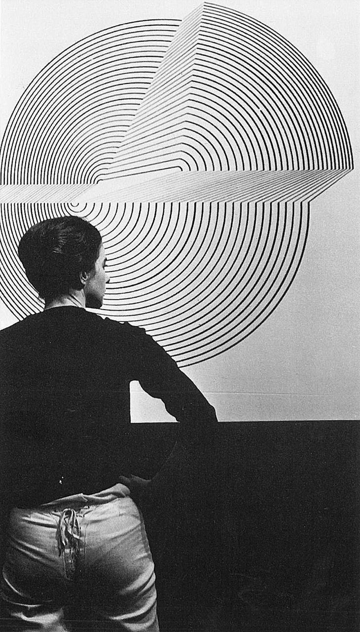 bridget riley by ida kar