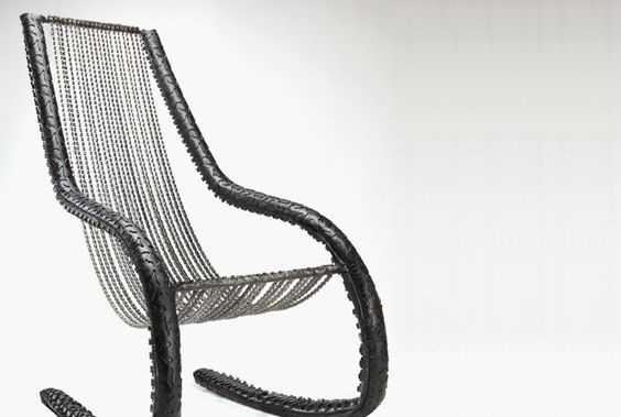 Rocking Made From Bike Tires And Chains By BRC Designs - Cool examples of innovative furniture design
