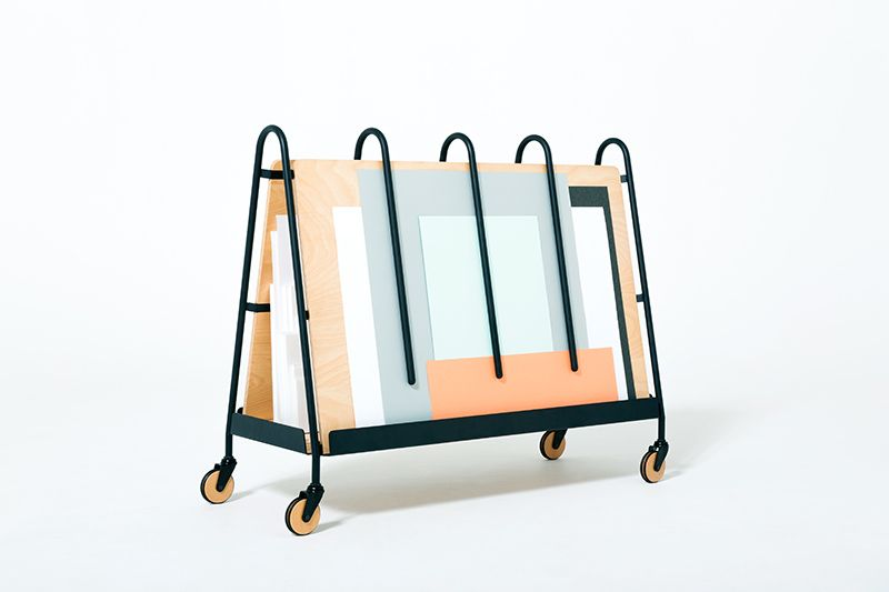 drill design / paper trolley / prototype / 2014