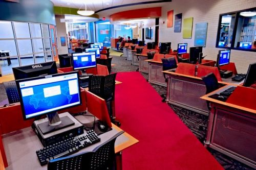 Technology Enabled The North Branch Library In The Terrebonne Parish Library System In Houma