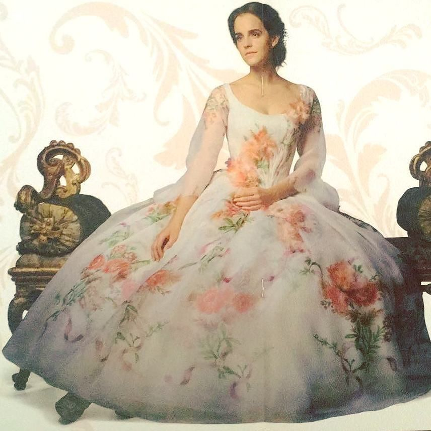 New Pictures Of Emma Watson For Beauty And The Beast Belle