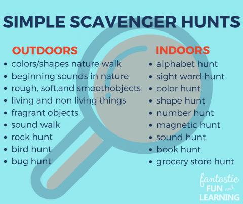 Fun Outdoor Scavenger Hunts For Kids Scavenger Hunt For Kids Outdoor Scavenger Hunts Scavenger Hunt