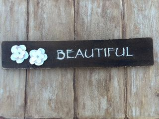 Beautiful Rustic Reclaimed Wood Sign by BeautifulWinds on Etsy