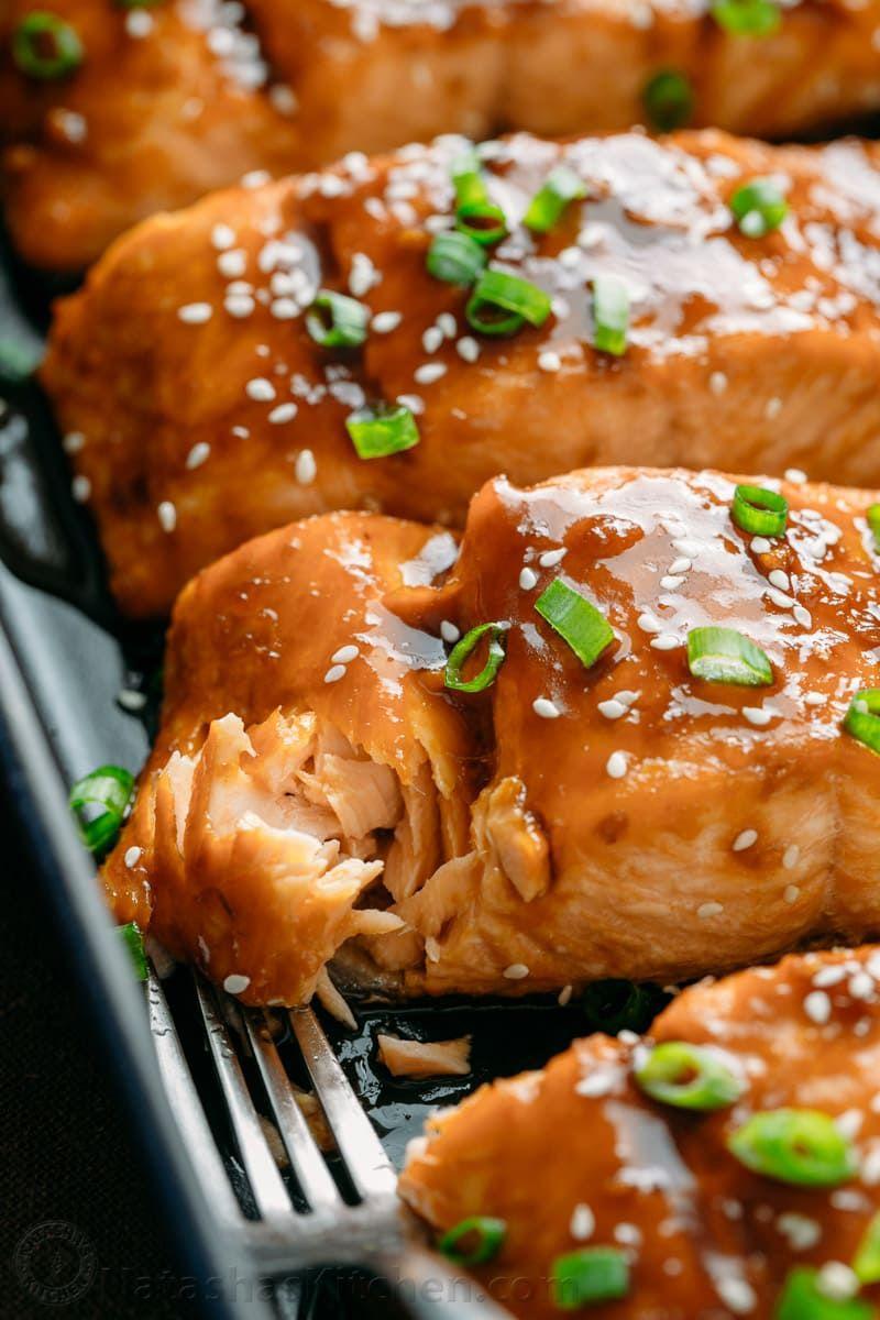 This Teriyaki Salmon Recipe Is A Winner Simple