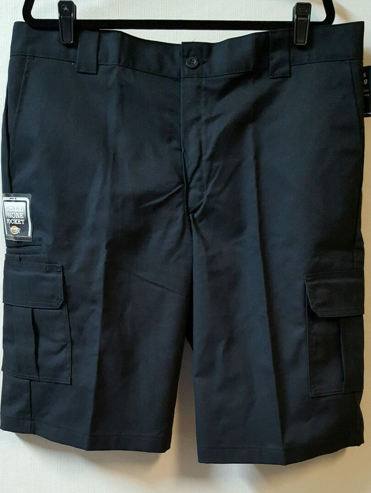 official supplier cozy fresh look good shoes sale Dickies Shorts Size 40 Blue Cargo Relaxed Fit 13