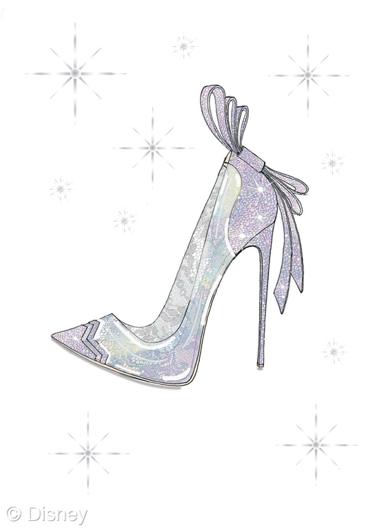 order online wholesale biggest discount Cinderella's glass slippers come to life in designer ...