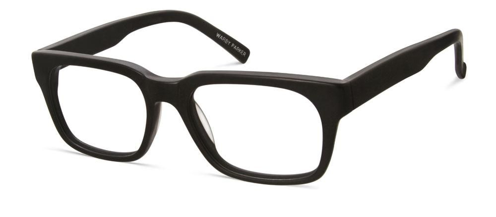 9e39770113d Warby Parker Beckett in jet black matte. I personally wear the striped  chestnut pair and I m in love with it.