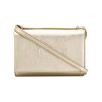 Bolso de cuero con logo de Burberry – Dorado   iLovee