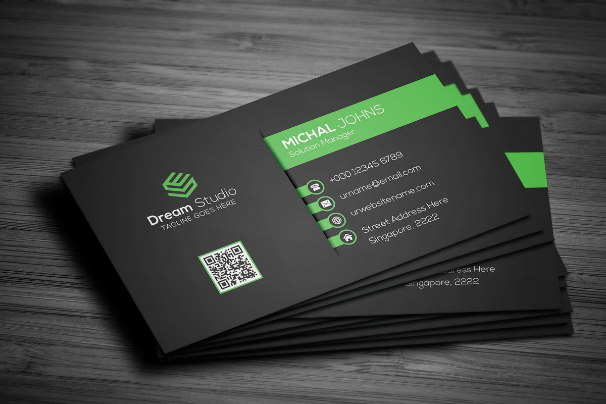 Creative Modern Business Card Landscaping Business Cards Business Cards Corporate Identity Professional Business Cards