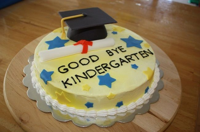 Kindergarten Graduation Cakes New Cake Ideas With Images