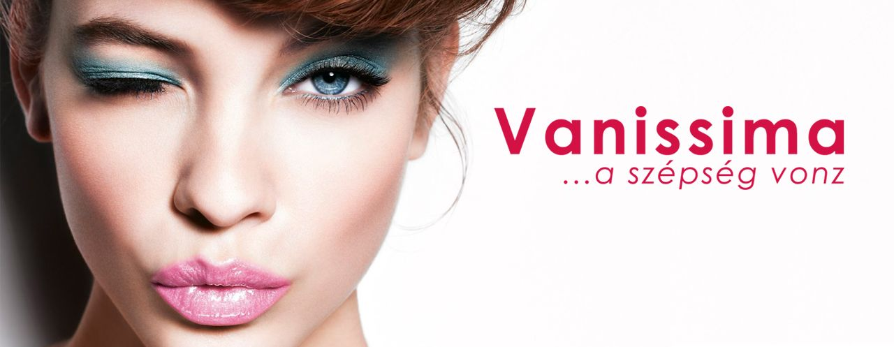 www.vanissima.hu - Cover and logo #budapest #booking #beautician #hairdresser #makeup #nails #masseuse