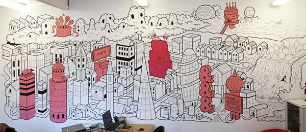 Wall Murals U0026 Live Art By Matt Johnstone, Via Behance
