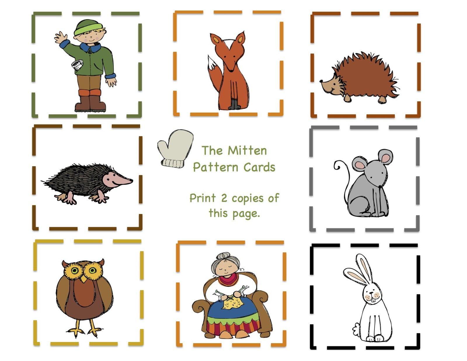 Preschool Printables Mitten Number Printable