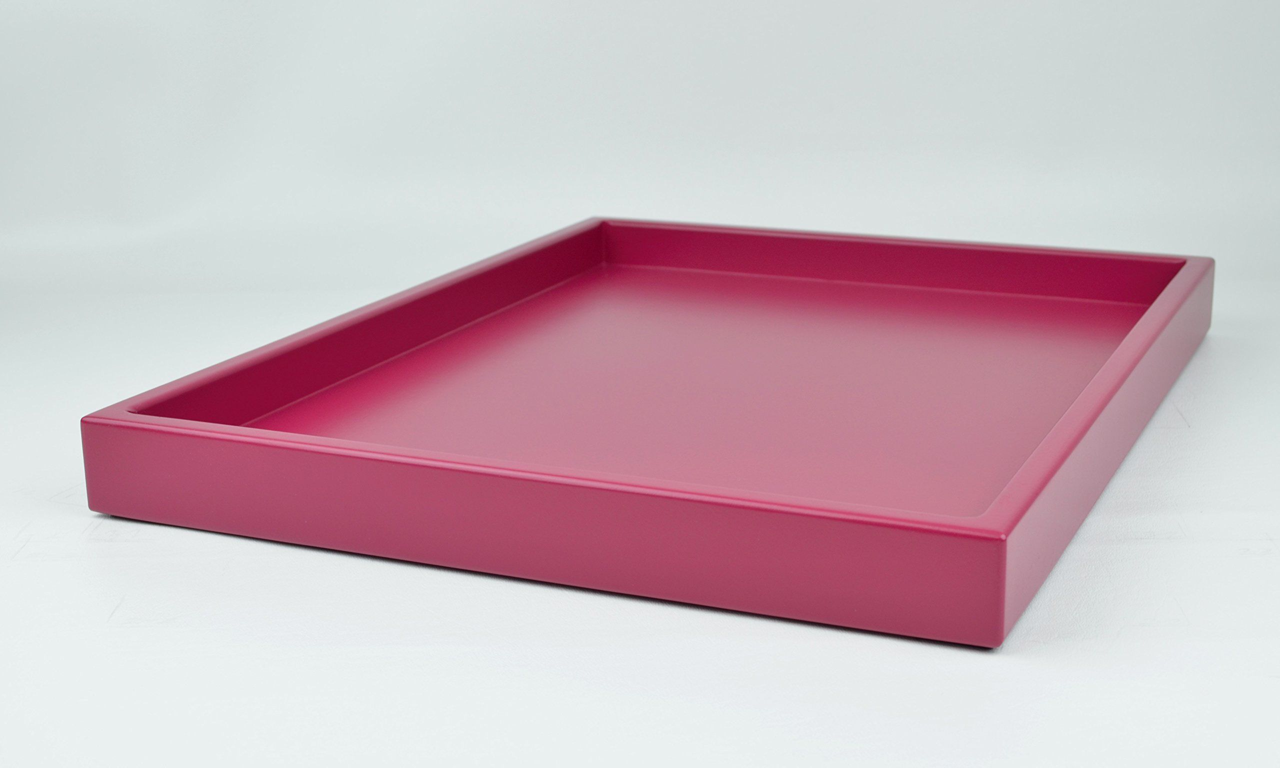 Handmade Tray Decoration Fascinating Decorative Tray Raspberry Pink Matte Or Gloss Lacquera 2018