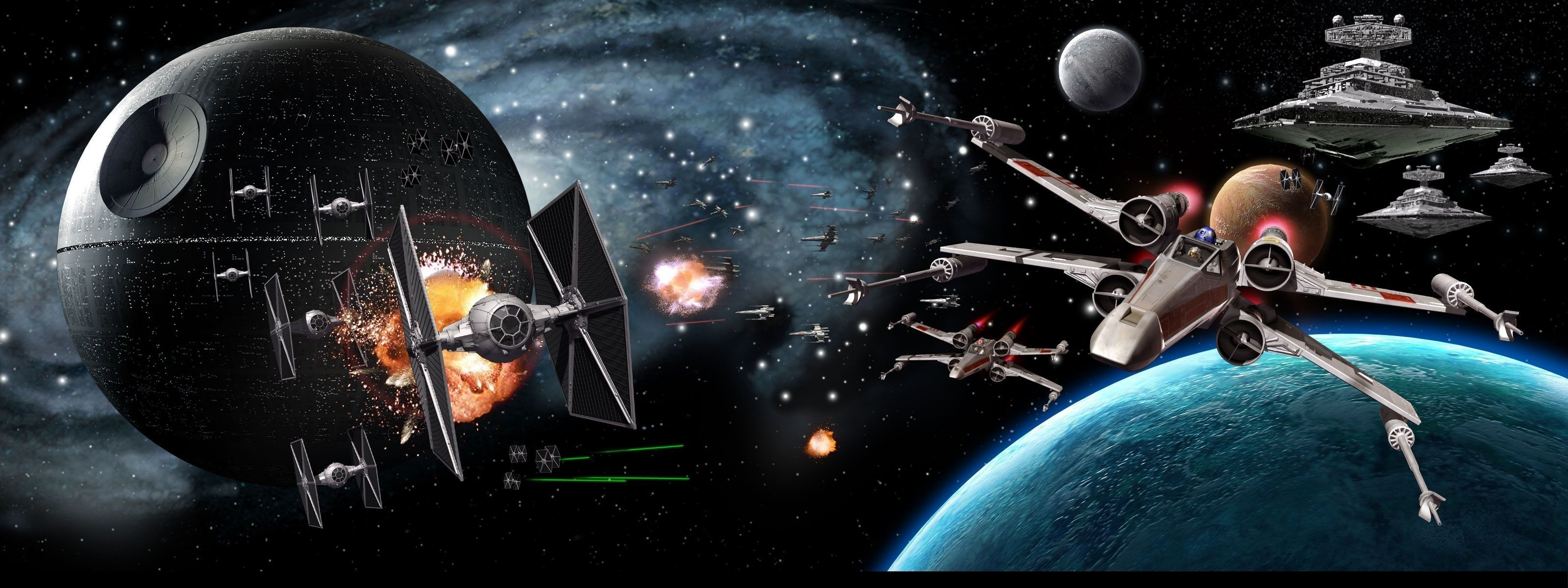 10 Top Star Wars Triple Monitor Wallpaper Full Hd 1080p For Pc Background Star Wars Wallpaper Star Wars Awesome Dual Monitor Wallpaper