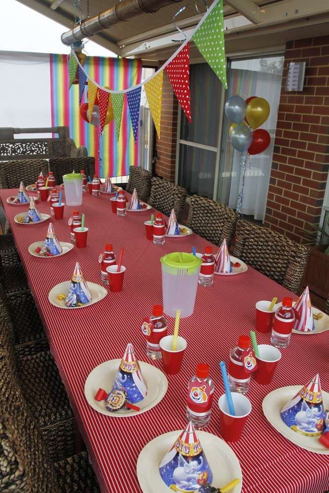 Circus/Carnival Birthday Party Ideas | Photo 18 of 18 | Catch My Party