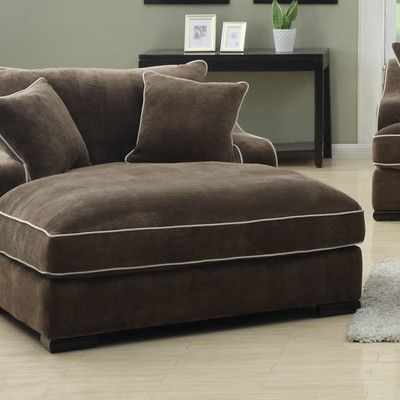 Emerald Home Furnishings Caresse Fabric Chaise Lounge u0026 Reviews | Wayfair : emerald home furnishings chaise lounge - Sectionals, Sofas & Couches