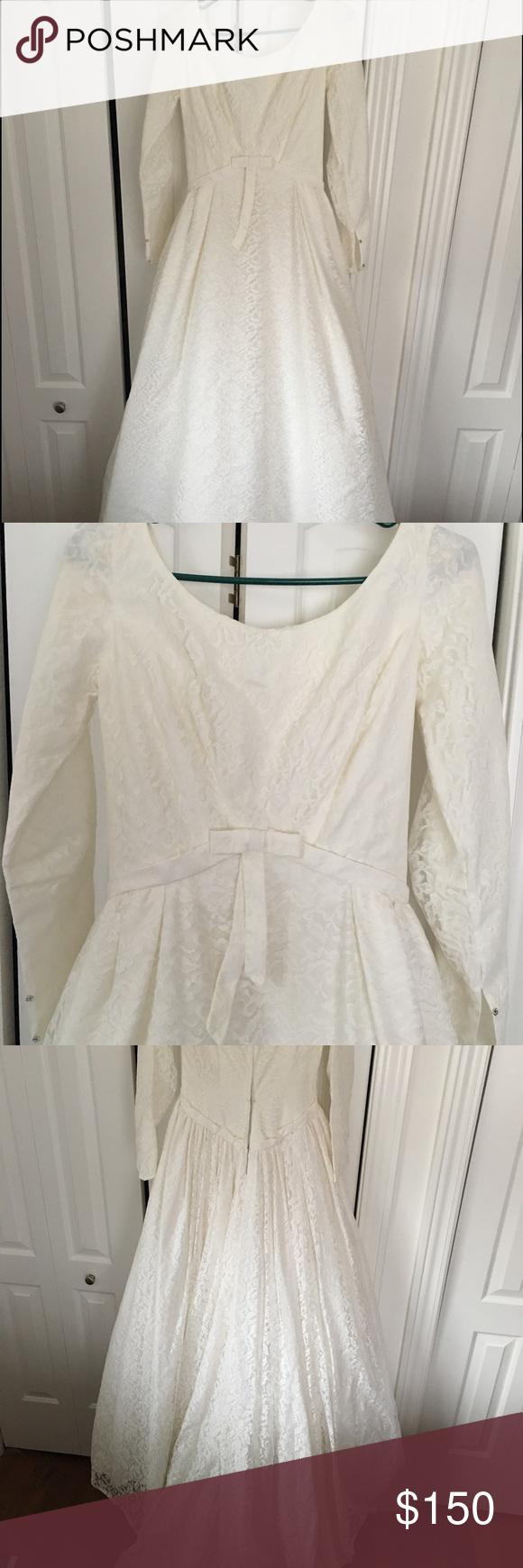 60s lace wedding dress  Beautiful usus wedding dress  Beautiful wedding dress
