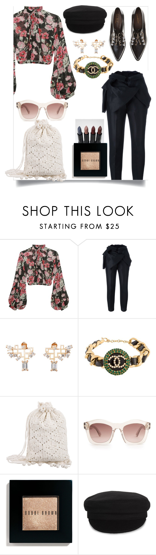 """Untitled #107"" by dido-c ❤ liked on Polyvore featuring Coliàc Martina Grasselli, Jill Stuart, Dsquared2, Chanel, Zimmermann, Tom Ford, Bobbi Brown Cosmetics and Étoile Isabel Marant"
