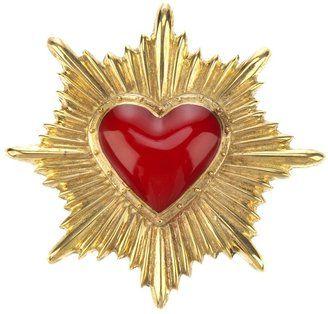 ShopStyle: Ktz heart brooch