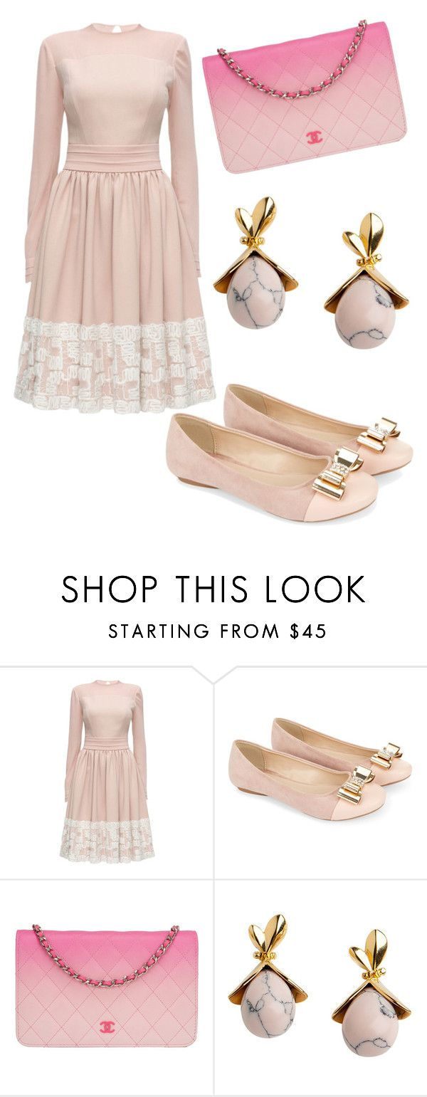 """Untitled #95"" by arinaartuhova ❤ liked on Polyvore featuring Lattori, Monsoon, Chanel and Lele Sadoughi"