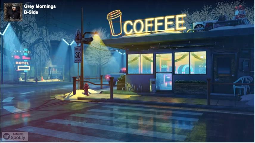 coffee in 2020 Desktop wallpaper art, Anime backgrounds