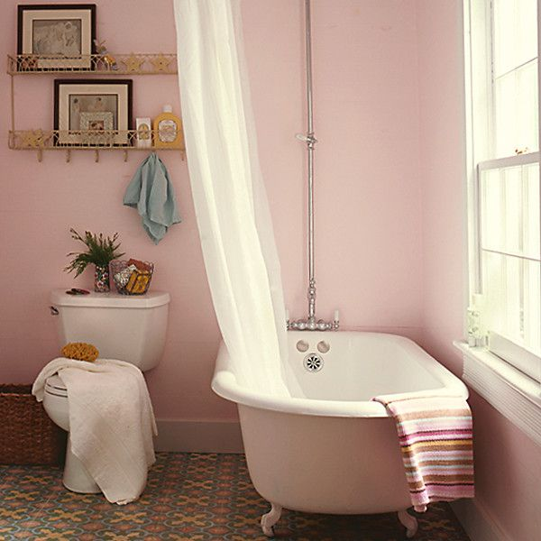 Pink Wall Paint Colors: When It Comes To Paint, Think Pink!
