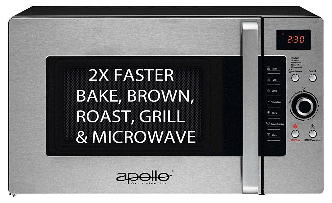Best Review For Apollo Ad 34 Cts B Half Time Convection Microwave