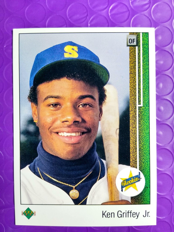 1989 upper deck ken griffey jr rookie card 1 nrmt