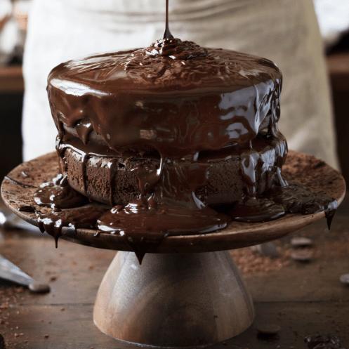 The Best Chocolate Cake Recipe Recipes Of Holly Best Chocolate Cake Amazing Chocolate Cake Recipe Vegan Chocolate Cake Easy
