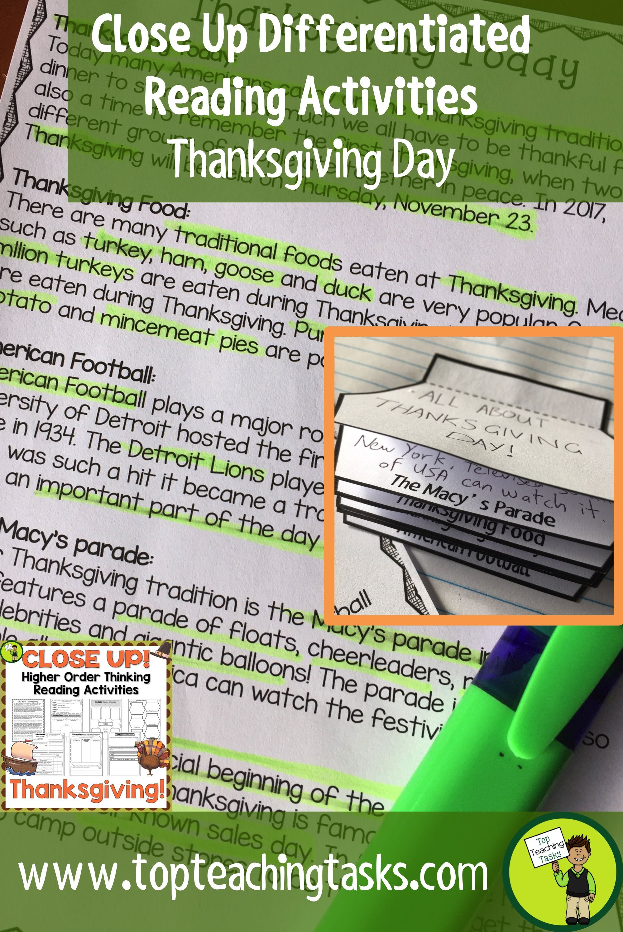 Thanksgiving Day Close Reading Comprehension Passages With Questions T Reading Comprehension Thanksgiving Reading Comprehension Reading Comprehension Passages [ 2993 x 1999 Pixel ]