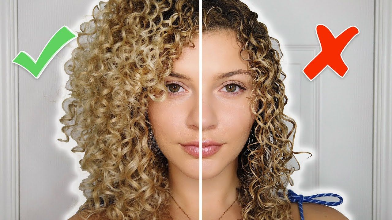 Curly Hair Styling Mistakes To Avoid Tips For Volume And Definition Air Dry Youtube Curly Hair Styles Naturally Curly Hair Styles Ombre Curly Hair