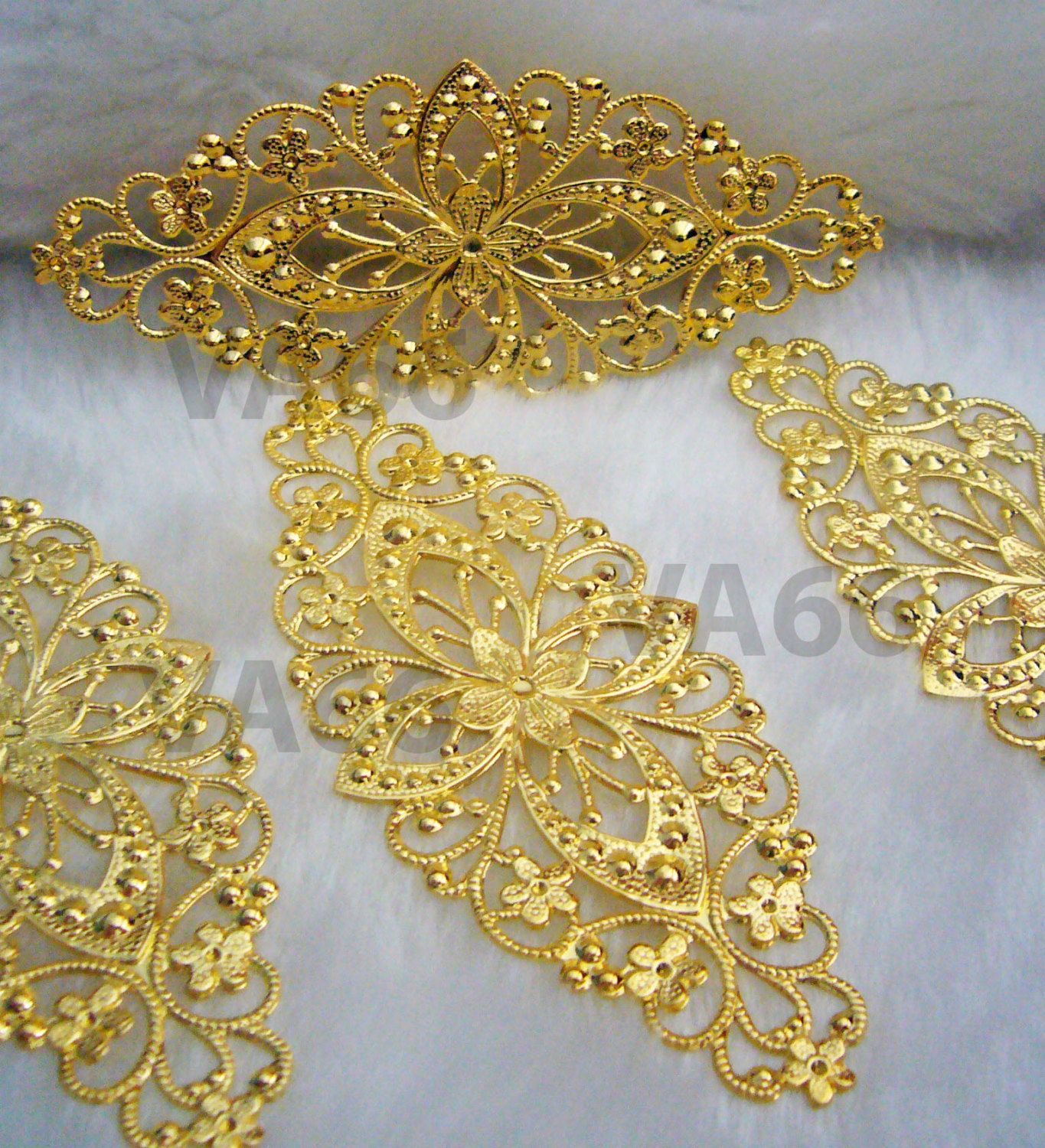 Diy gold filigree lace extension chandelier earrings necklace parts diy gold filigree lace extension chandelier earrings necklace parts 4 diy findings jewelry making parts spare aloadofball Choice Image