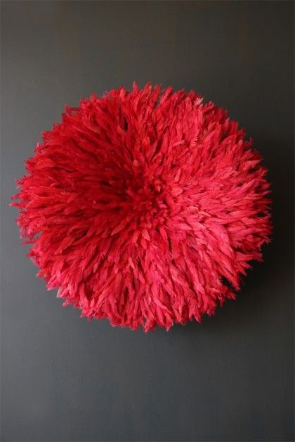 JuJu Hat Feather Wall Hanging - Blush Red | Feather wall ...